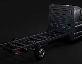 WV Crafter Chassi SingleCab L2 2017 3D model