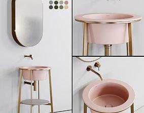 3D asset Ceramica Cielo Catino Tondo 2 Washbasin