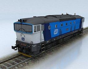 3D model T750 Brejlovec