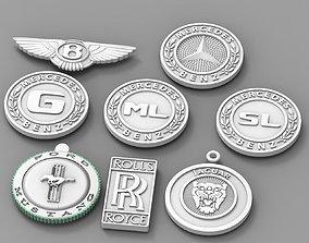 3D printable model logo print logotype