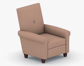 1087 - Armchair 3D model