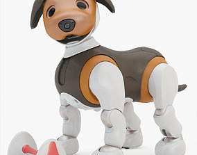 Aibo Choco Edition Rigging 3D model