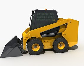 Skid Steer Loader 3D model civil