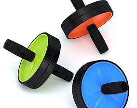 3D model Exercise Wheel