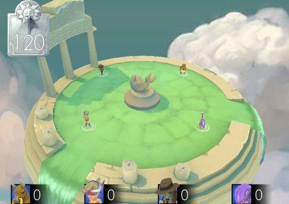 Olympus Level 3d environment