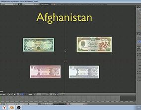 Afghanistan - paper - money models