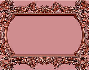 reliefs Mirror frame 3d - CNC machine - 3D CNC