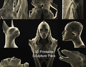 3D Printable Sculpture Pack