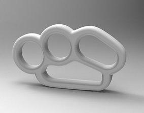 3D printable model ERGONOMIC KNUCKLE DUSTER