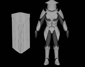 Zakuul Knight Armor 3D print model