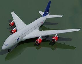 Scandinavian Airlines SAS 3D model