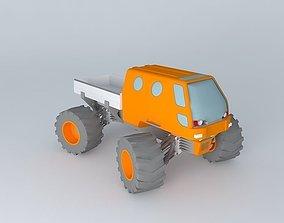 3D model Monster Truck vehicle