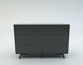 Fermo Double Dresser 3D asset