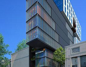 Office Building BA 3D model