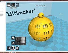 ornament Snowflake 3D printable model