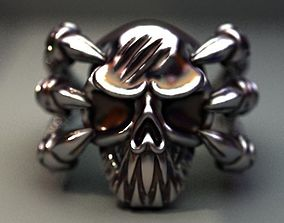 3D print model Scull -in the clutches of a