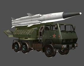 3D asset SX2190 Missile Launcher