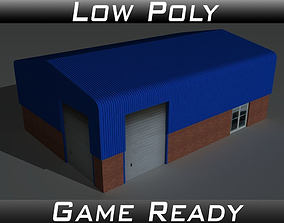 Factory Building 7 3D asset