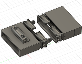 M134 Minigun Round Guide 3D printable model