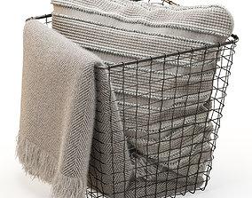3D model ZARA HOME basket