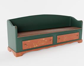 3D model Old Settle Bench
