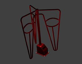 old turnstile 3D model