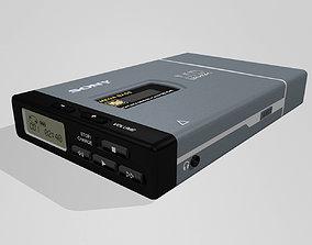 Minidisc Player - Sony Walkman MZ-E40 3D model