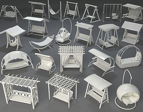 3D model Swings - 23 pieces