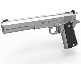 3D model Pistol AMT Hardballer Long Slide