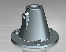 3D printable model Support base for modern screw