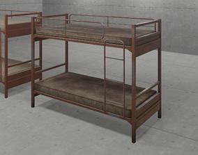 Prison or Military Bunkbed 3D model