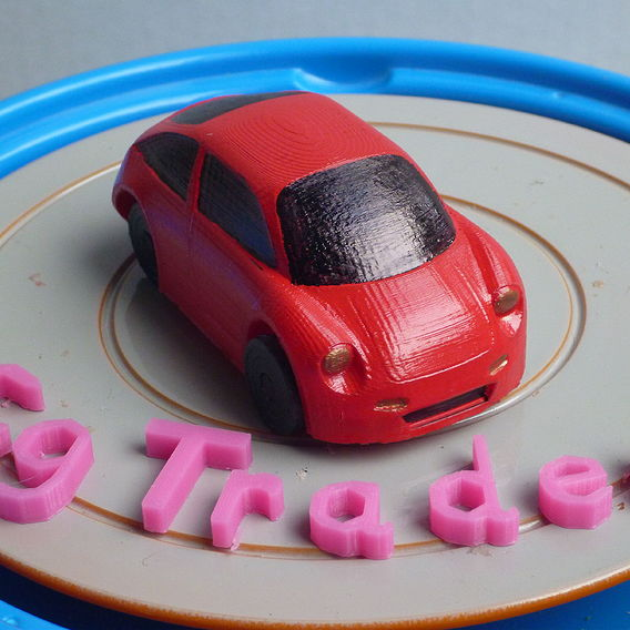 CG Trader Squared AAA Special 3D Printable Concept car collection