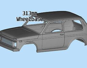 Custom bodies rc car files LADA Niva 3D printable model 1