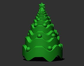 3D print model present Christmas Tree