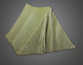3D model Military Tent 86 - MLT - PBR Game Ready