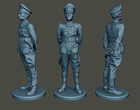 German Officer ww2 attention G5 3D print model