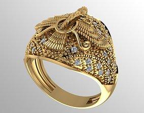 Farvahar Ring 3D printable model