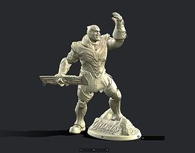 THANOS INSPIRITED FIGURE FOR 3D PRINTING