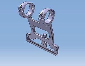 Tactical Rings SB-W 30 for AK74 AK47 Sayga 3D model