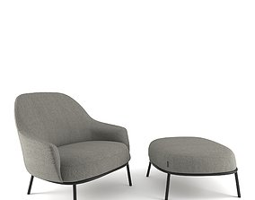 3D Offect Shift Classic easy chair