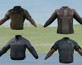 Shirts 3D asset