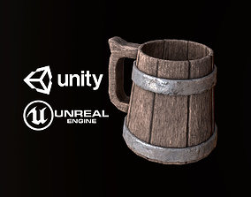 3D model Tankard Mug Cup - PBR Game Ready