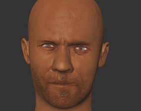 realtime jason statham actor hollwood 3Dprint