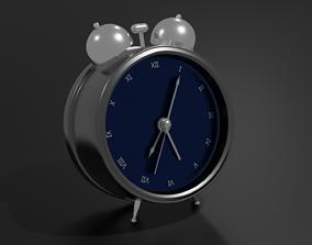 3D asset low-poly Clock Model