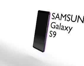 3D Samsung Galaxy S9 model