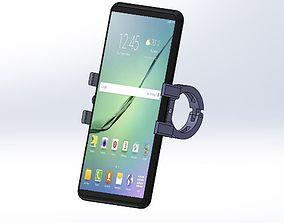 Mountain bike phone holder 3D printable model