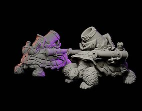 3D printable model Cannon Tortoise