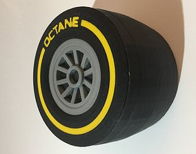 Racing Tyre Gift Box 3D printable model