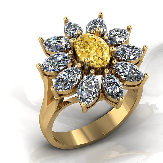 sun women ring
