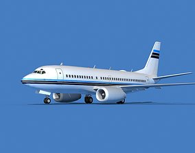 3D model Boeing 737 MAX 7 Corporate 1